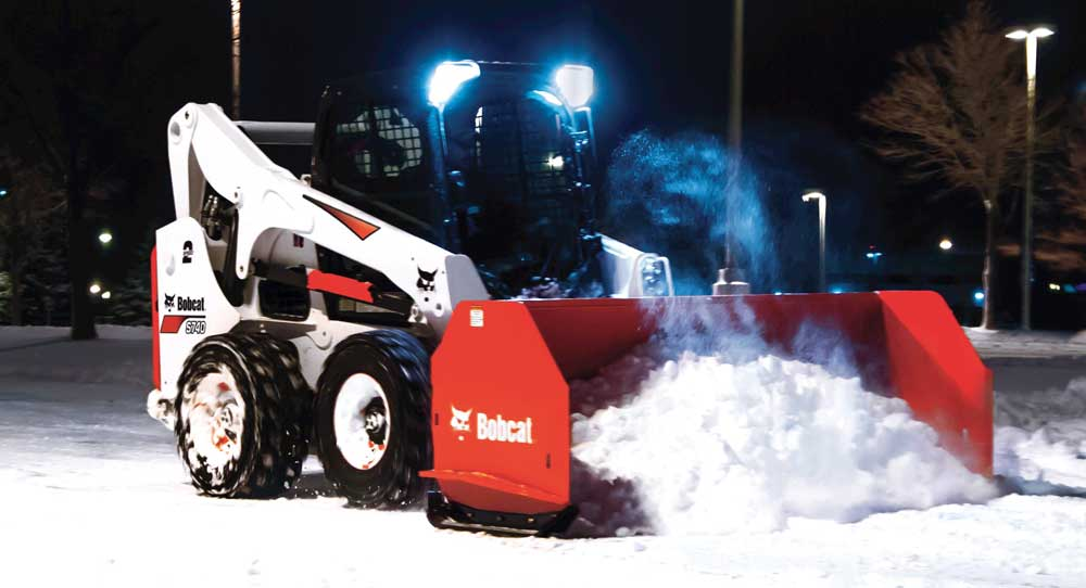 Bobcat Snow Pusher Attachment
