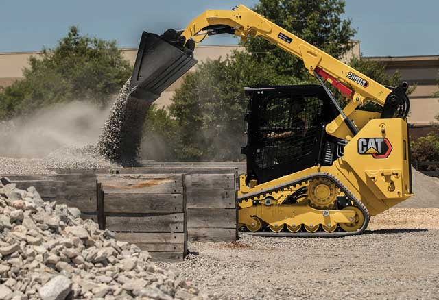 Caterpillar D3 Series Loaders