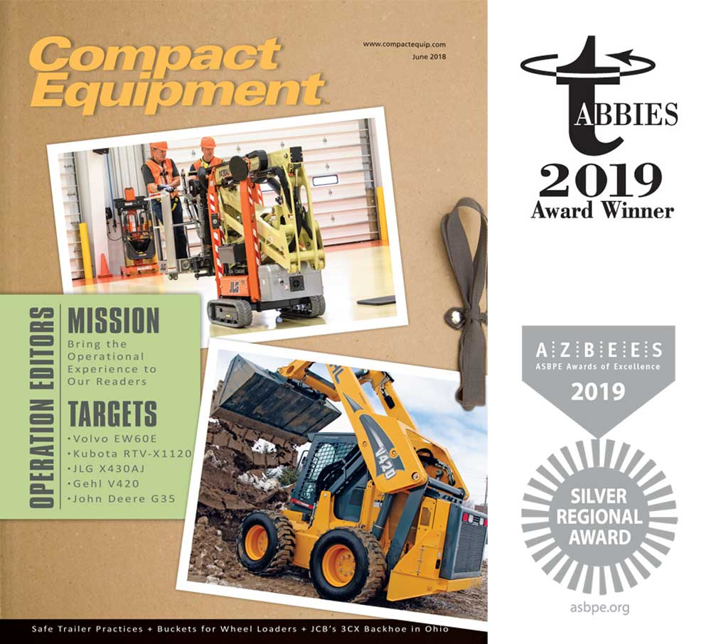 Compact Equipment September 2019 cover