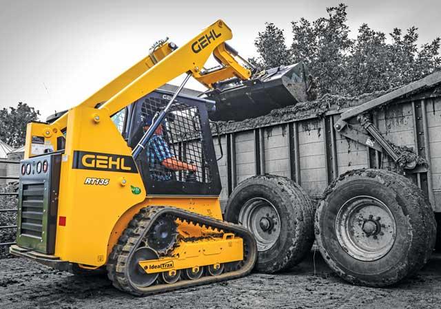 Gehl RT135 track loader