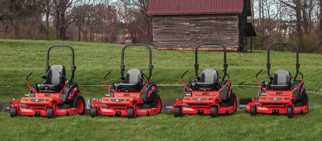 Kioti ZXR and ZXC Mowers
