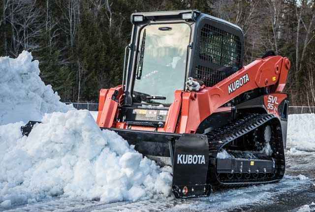 Kubota SSP15 Series Snow Pusher