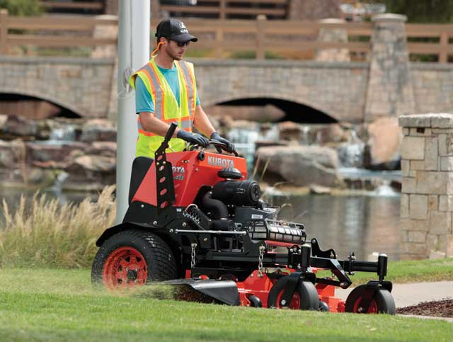 Kubota SZ Series Stand-On Mowers