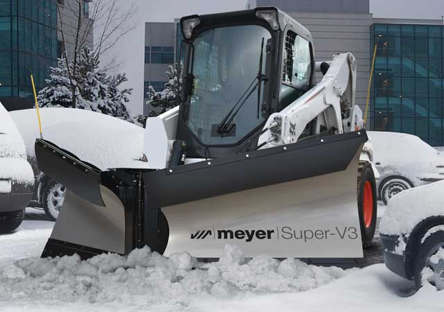Meyer Super-V3 Plow