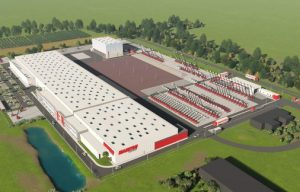 First Stone Laid at Manitou's New Aerial Work Platform Factory in France, Facility Will Help Supply the US