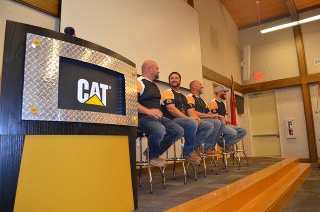Cat global operator challenge press trip 17