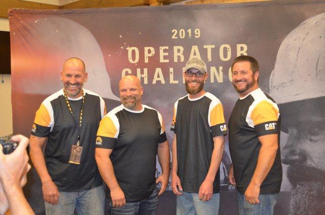 Cat global operator challenge press trip 18