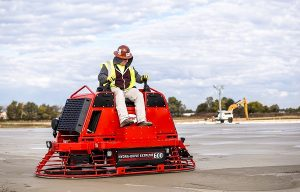 Allen Engineering Introduces All-New HDX600 Hydra-Drive Riding Trowel