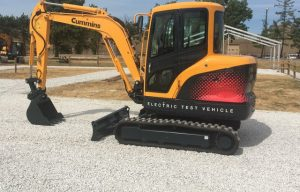 Hyundai Exhibits Electric-Powered Compact Excavator at #ICUEE19