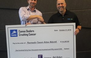 Camso Dealers Raise Over $144,000 for the Pancreatic Cancer Action Network