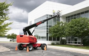 Manitou Extends Reach with Straight Boom MEWPs