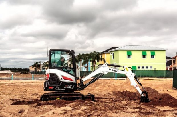 Bobcat Introduces New E26 Compact Excavator to the R-Series Lineup