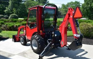 Curtis Introduces Cab for Mahindra Max 26 XLT Compact Tractor