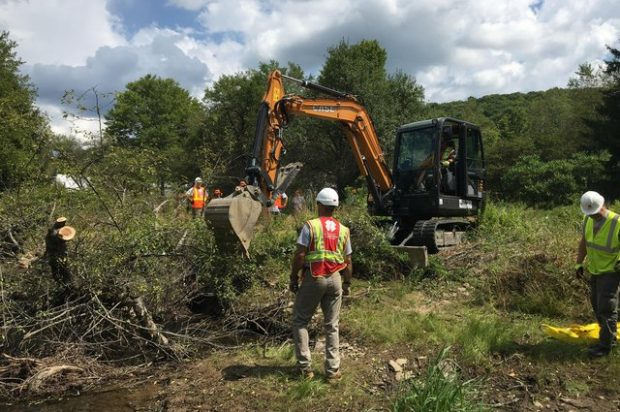 Case Dealer Medico Industries Supports Team Rubicon in Flood Mitigation Project in Susquehanna County, Pa.