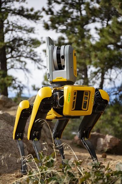 Boston Dynamics' Spot Robot with Trimble X7 3D Scanning System