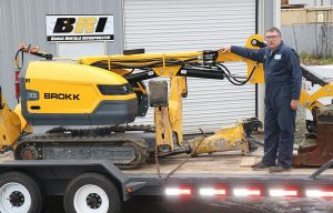 Brock Rentals Inc. Upgrades Fleet with New Line of Brokk SmartConcept Machines