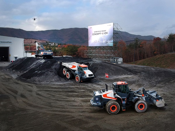 doosan infracore demonstrates unmanned and automated