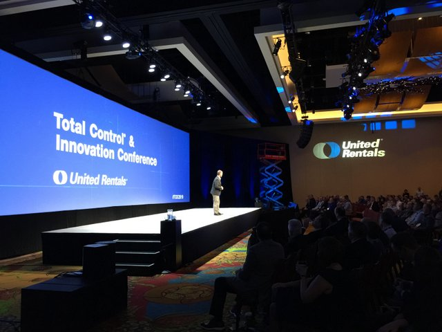 United Rentals Total Control Conference 1