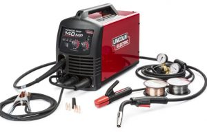 Lincoln Electric Launches POWER MIG 140 MP Multi-Process Welder