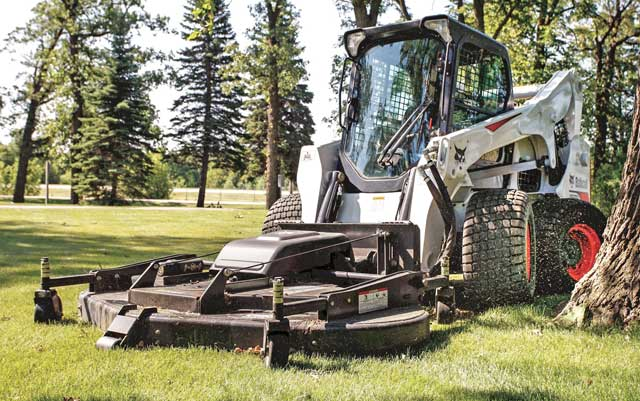 Bobcat A770 mower