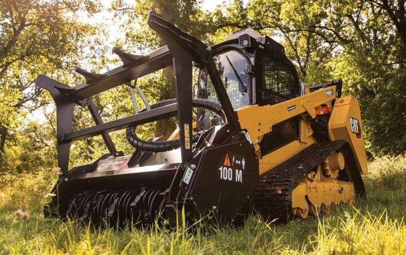 Cat's Beastly 299D3 XE Land Management Unit