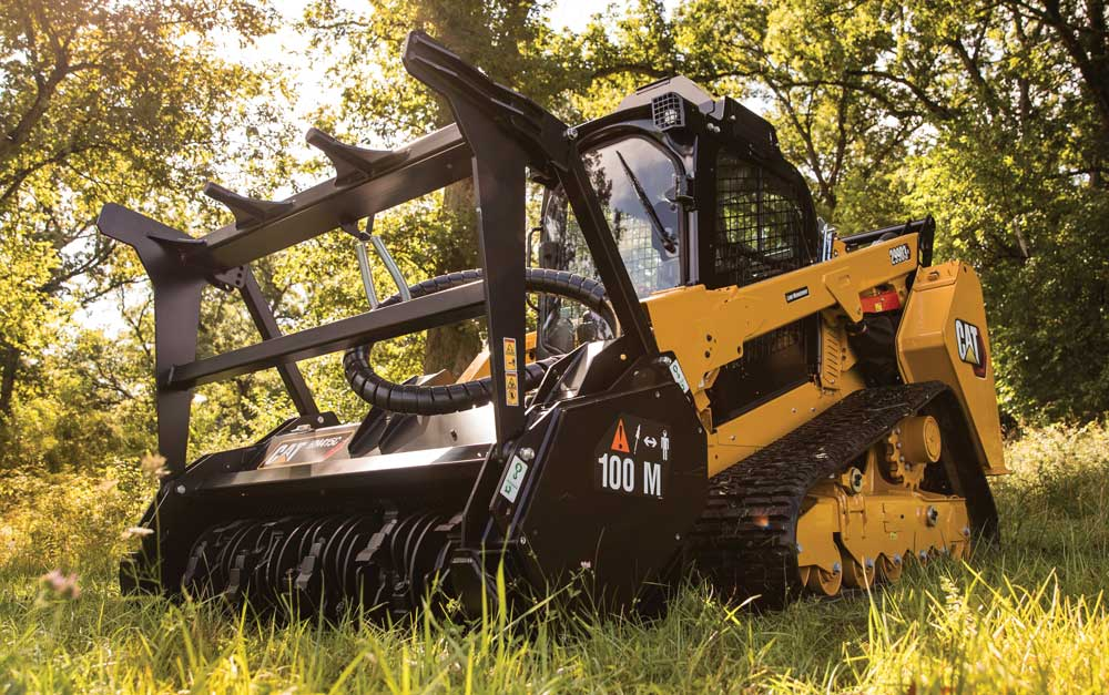 Cat's Beastly 299D3 XE Land Management Unit