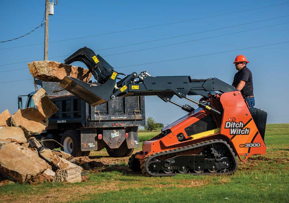 Ditch Witch's SK3000