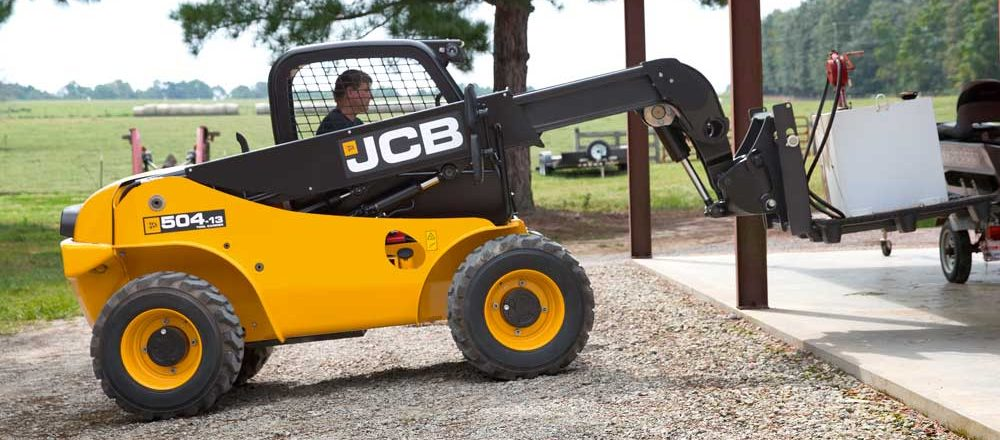 JCB's 504-13 Loadall telescopic handlers