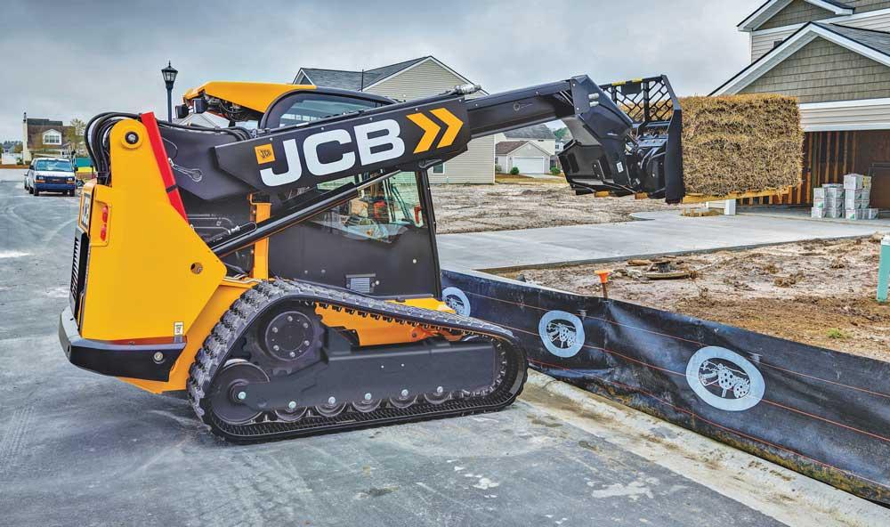 JCB Teleskid compact track loader