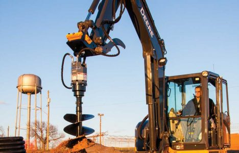 Add an Auger: How to Pair an Auger with Your Mini Excavator