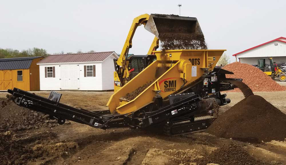 SMI Compact's New Crushers and Screening Plants