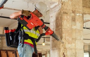Hilti Introduces World's First Cordless Breaker