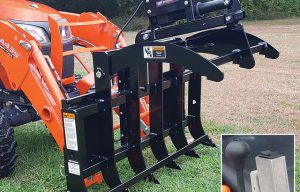Worksaver Introduces New Electric Grapple for Sub-Compact Tractors