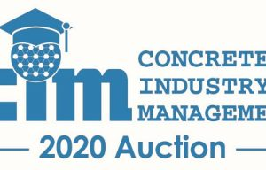 CIM Announces Items Available at 2020 Auction at World of Concrete