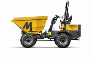 Mecalac Introduces the TA3SH Power Swivel Site Dumper