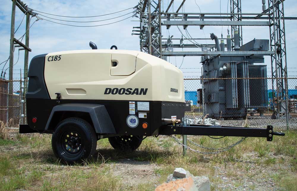 Doosan Portable Power C185 Air Compressor