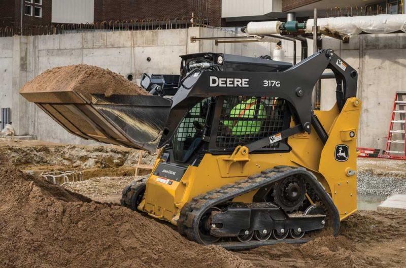John Deere 317G Compact Track Loader