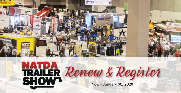 NATDA Trailer Show Renew and Register