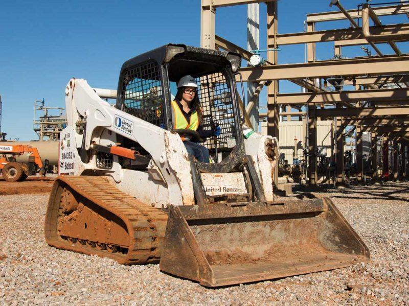 United Rentals track loader