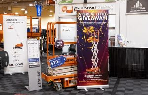 Snorkel Gives Away Two Scissor Lifts at CRA Rental Rally 2020