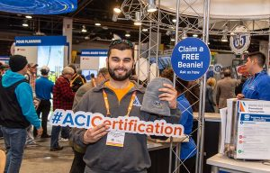 American Concrete Institute Celebrates Certification Programs at World of Concrete