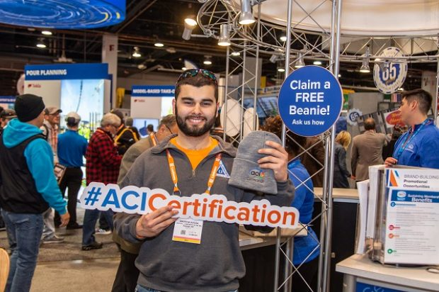 American Concrete Institute Celebrates Certification Programs at World of Concrete