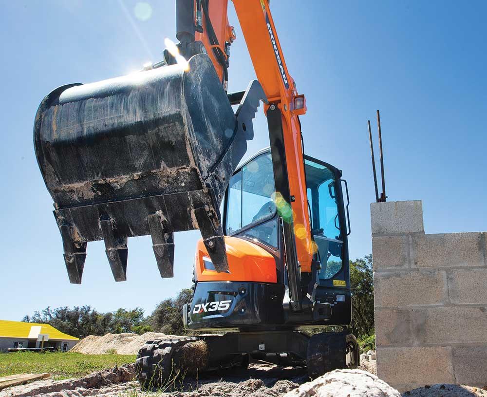Doosan DX35-5 excavator