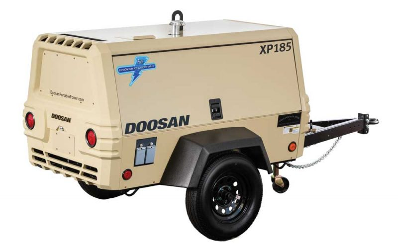 Doosan Portable Power High-Pressure XP185