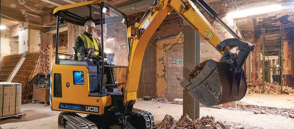 JCB 19C excavator