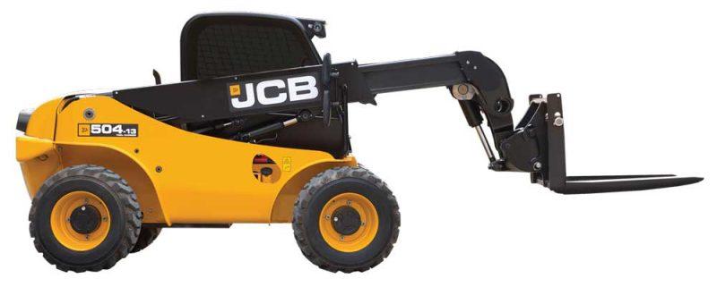 JCB's 504-13 Loadall subcompact telescopic handler