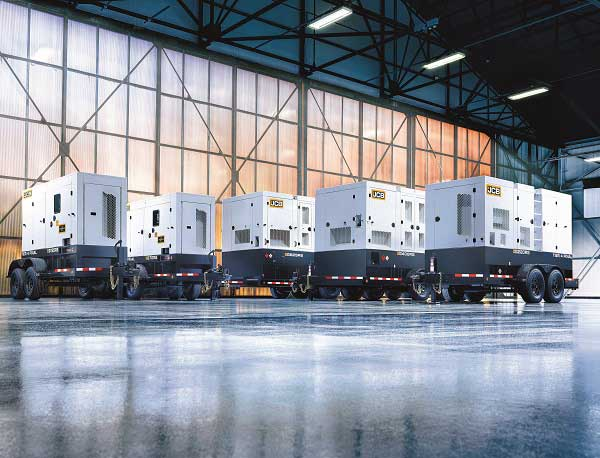 JCB generators