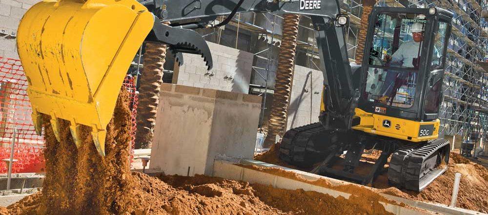 John Deere 50G excavator