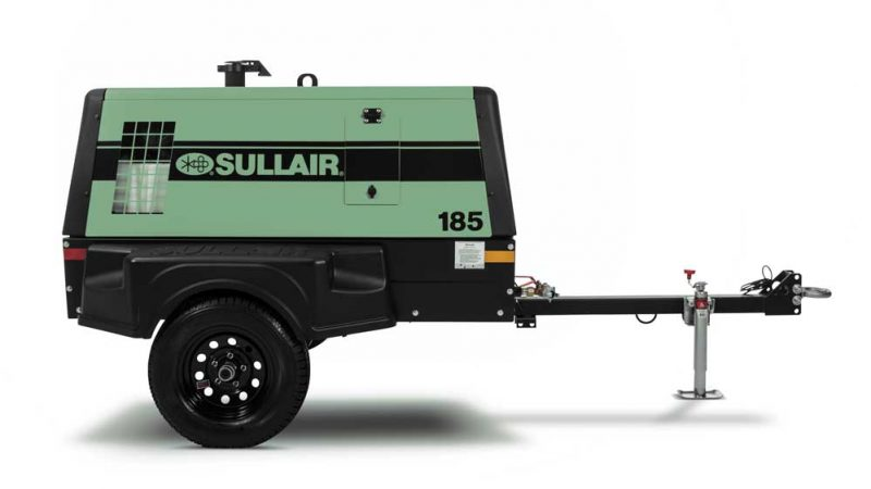 Sullair portable air compressor