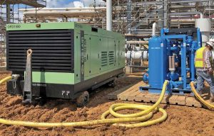 Clearing the Air: Coming Clean About Diesel-Driven Oil-Free Portable Air Compressors